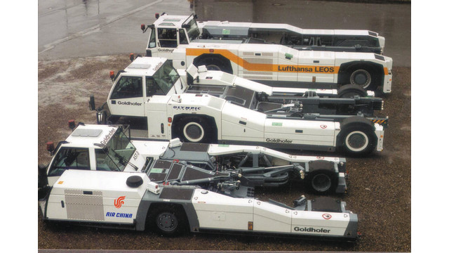 Towbarless Aircraft Tractors