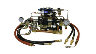 Helicopter Pop Float Booster Pump