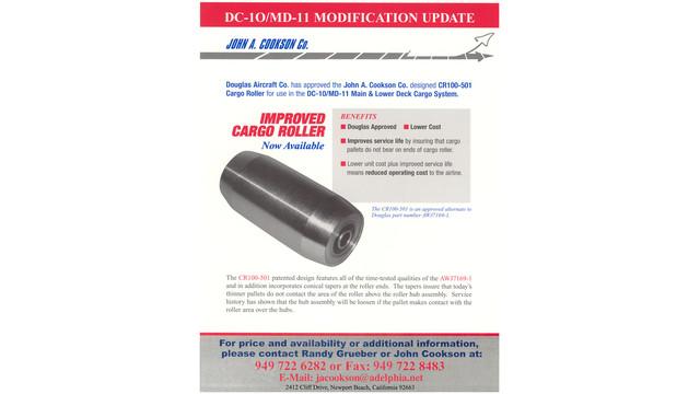 CR100-501 Patented Cargo Roller