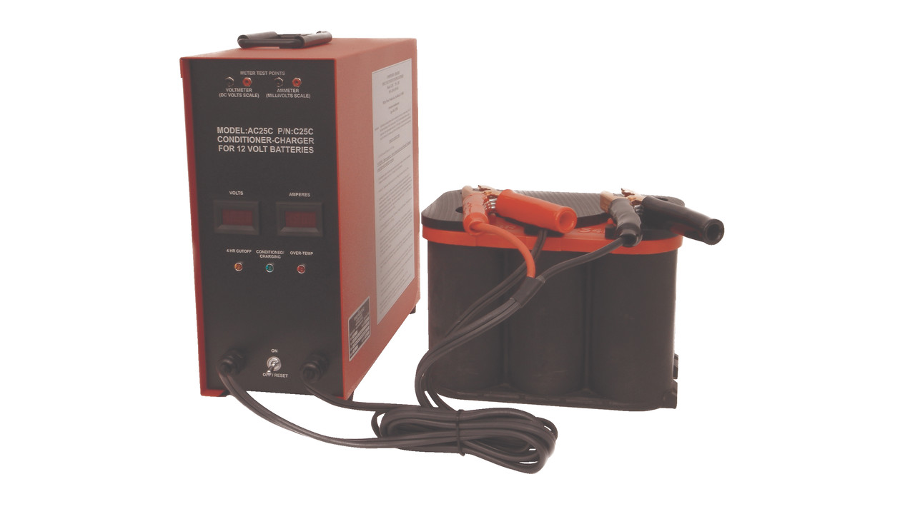 High Amp Battery >> Battery Conditioner/Charger | AviationPros.com