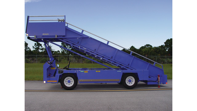 Chassis Mounted Passenger Stairs