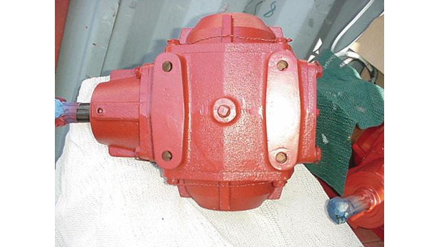 Gearbox for 652D and 952D Heat and Airconditioner Carts