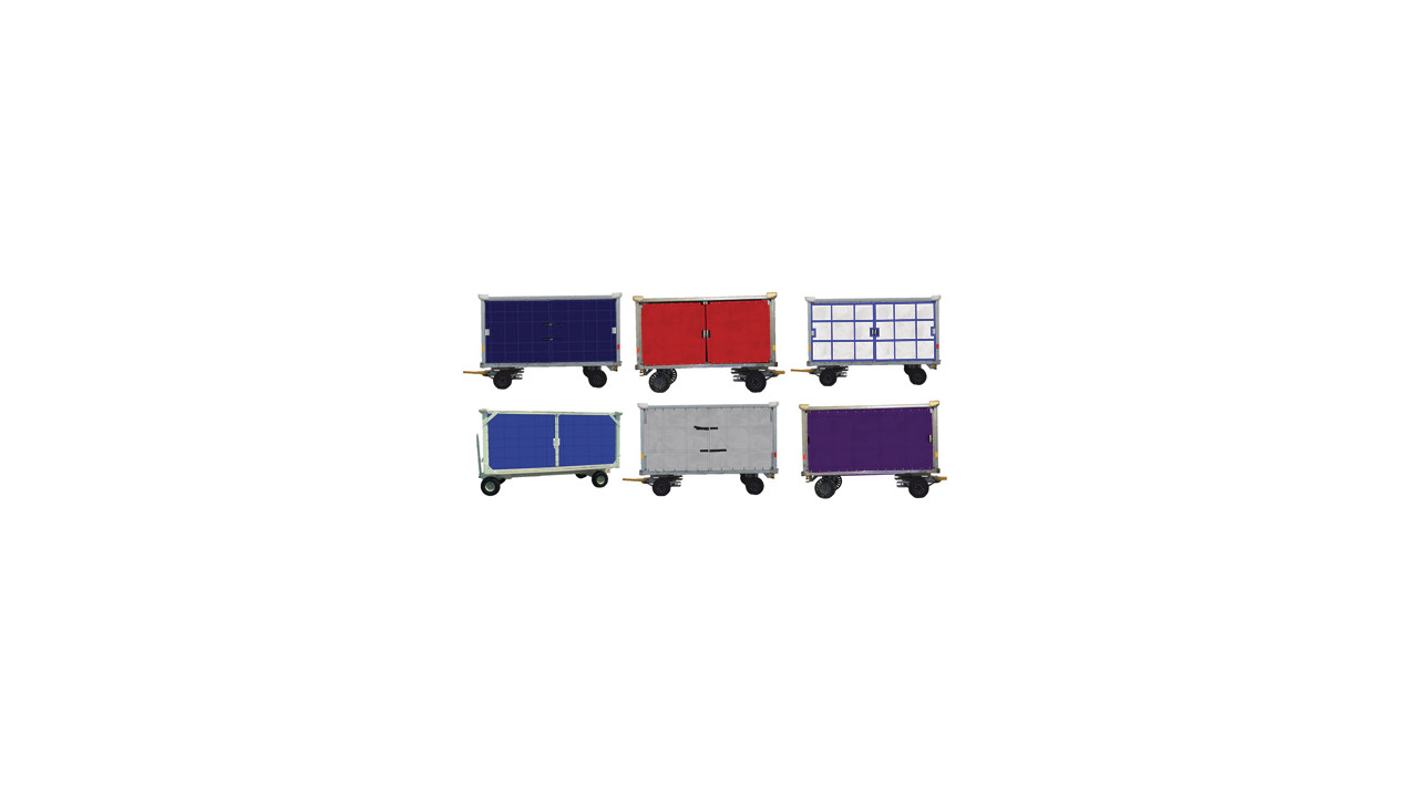 Baggage Cart Curtains From Estex Manufacturing Co Inc