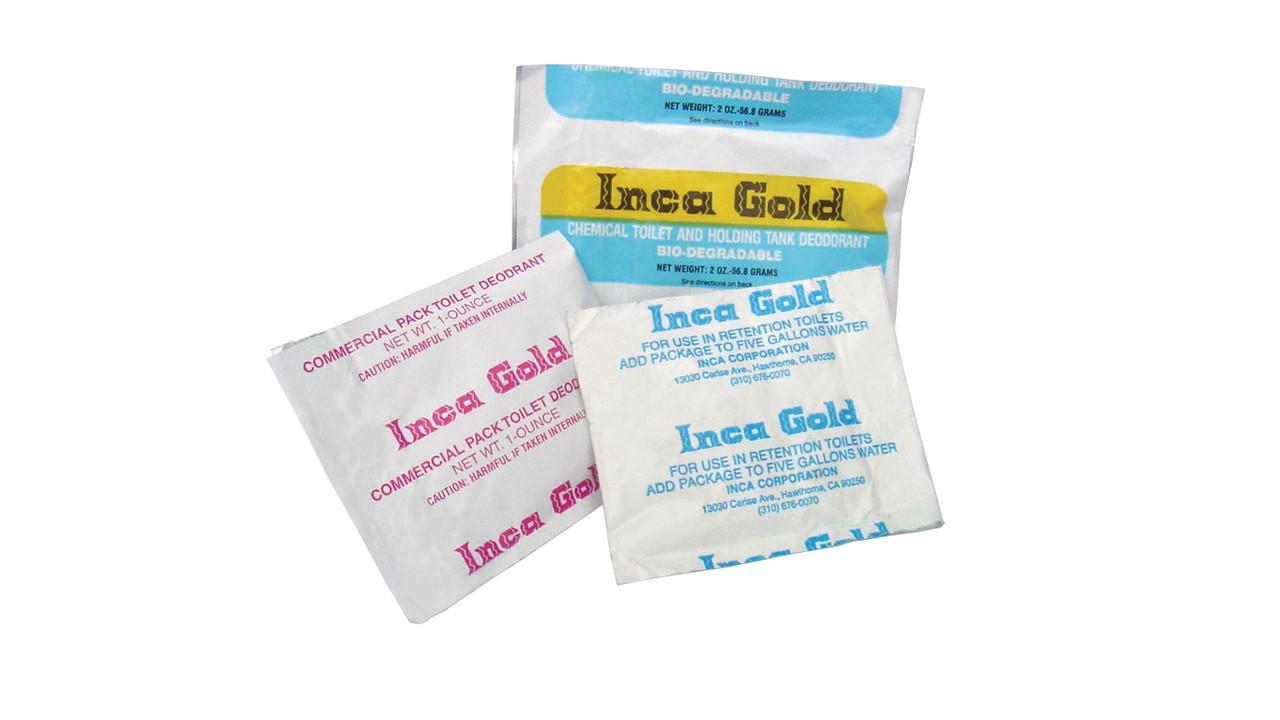 Inca Liquid Gold II Aircraft Toilet Deodorant..
