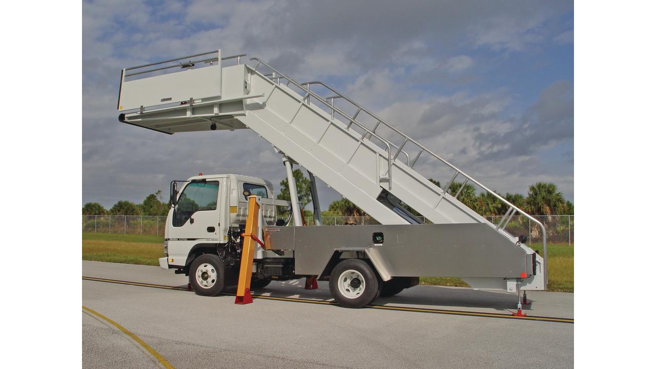 Pas200 Truck Mounted Passenger Stair Aviationpros Com