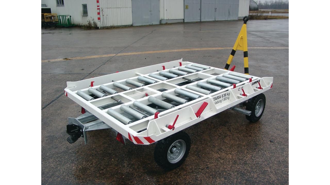 Container Dolly 1 8 Ton Aviationpros Com