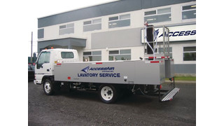 Vacuum Lavatory Service Truck