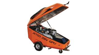 JetGo 550Mti and 28 eco 28V DC Hybrid Diesel GPUs