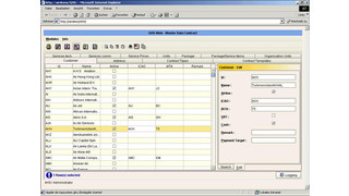 GS CRM and AODB: tracking contracts, creating invoices, central database