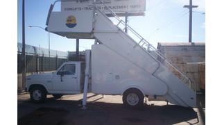 1985 Nordco Products Model 3003-79 Aircraft Boarding Staircase
