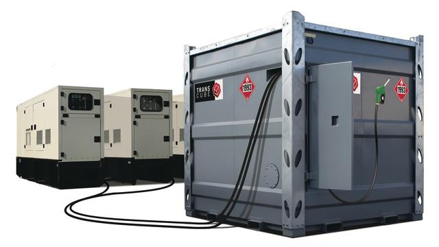100TCG Bulk Fuel Tank