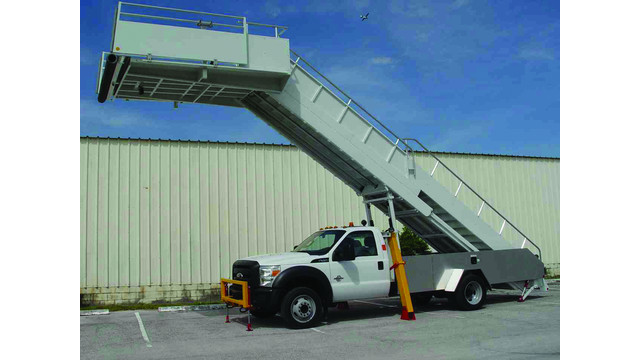 Truck-Mounted Passenger Stair