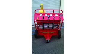 Nitrogen/Oxygen Service Carts