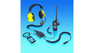 Integrated Ground Support Headset